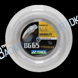 YONEX BG 65TI, White