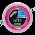 YONEX BG 80 Neon Pink