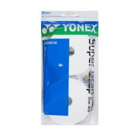 YONEX AC102EX-30 Super Grap, Hvid * Badminton-Import er 100% DANSK ejet og forhandler KUN originale varer