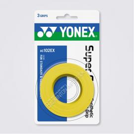 YONEX AC102EX Super Grap (3 wraps), Yellow